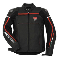Ducati Corse Motorbike Racing Leather Jacket